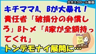 動画のあらすじ 【スカッとする話 キチママ】キチママA、Bが大暴れ!責...