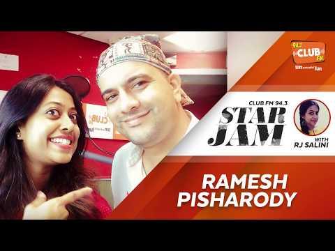 Ramesh Pisharody - Star Jam with RJ Salini - CLUB FM 94.3