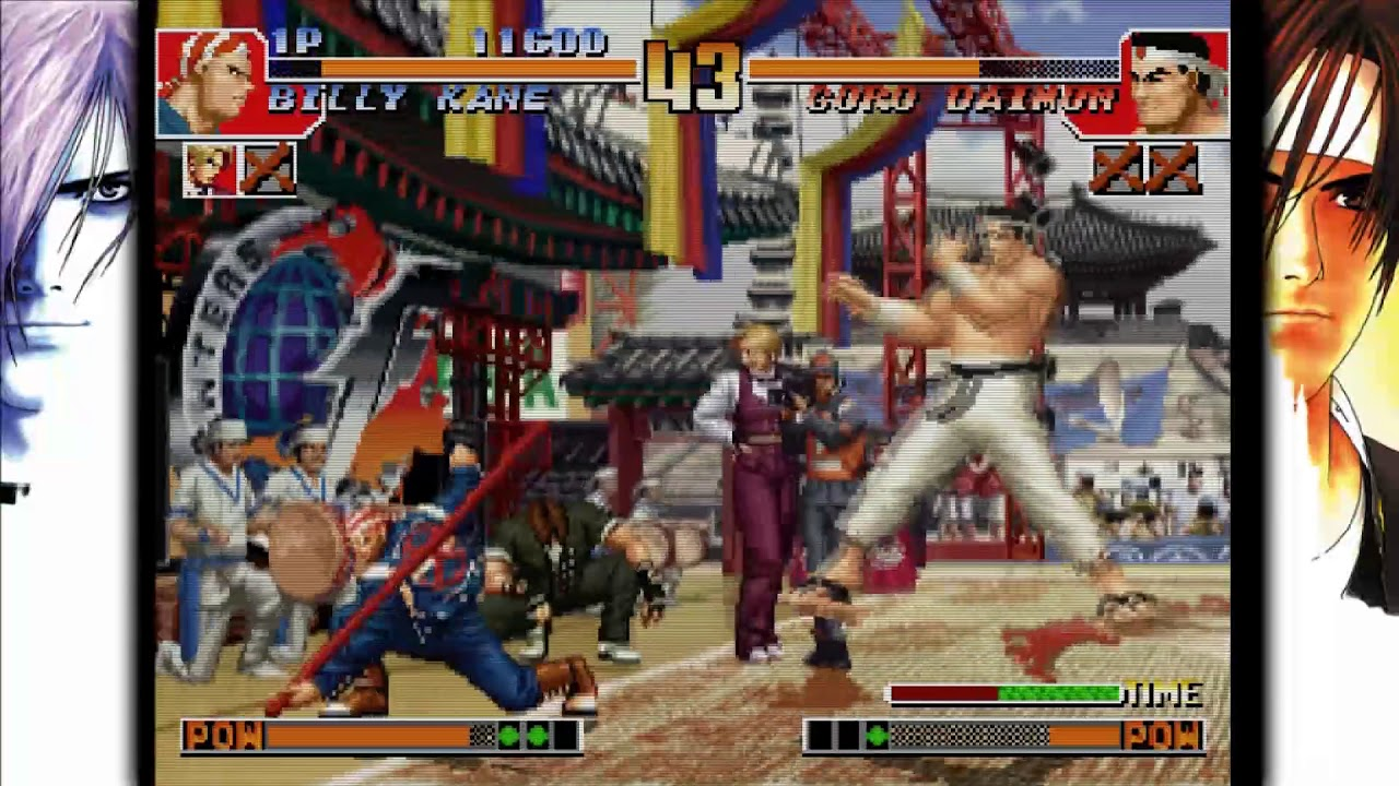 The King Of Fighters 97 Global Match Vita Gameplay Youtube