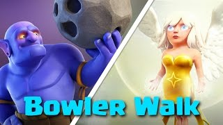 TH9 Bowler Strategy | Bowler Walk + Queen Walk | Clash Of Clans