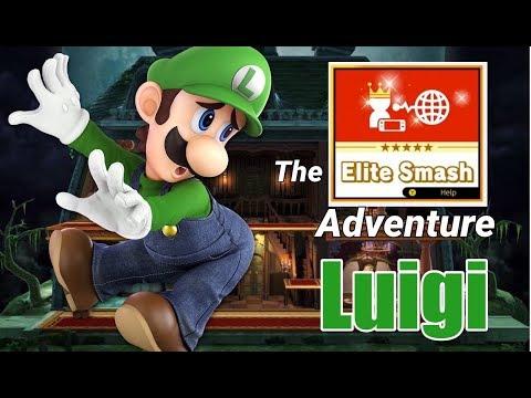 The Elite Smash Adventure - Luigi   Smash Ultimate Montage