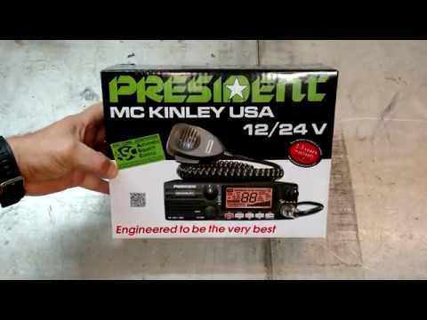 President McKinley Part 1: Unboxing A New SSB CB Radio!