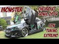 Monster, Chevrolet Sonic con tuning extremo