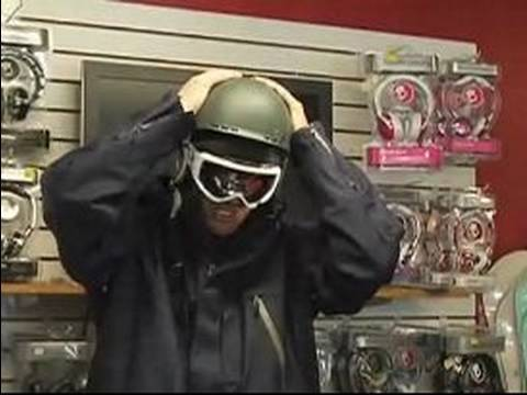 Snow Ski Equipment : Picking a Ski Helmet