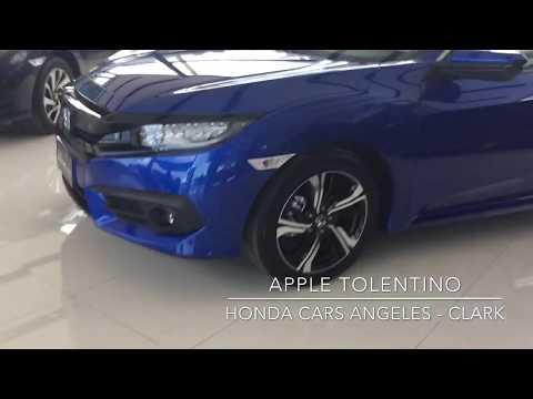 2018 HONDA CIVIC 1.5 RS NAVI CVT (Philippines) Brilliant Sporty Blue