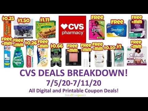 CVS Deals Breakdown 7/5/20-7/11/20! All Digital and Printable Coupon Deals!