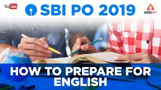 SBI PO 2019 | How to Prepare for English | Best Strategy For SBI English