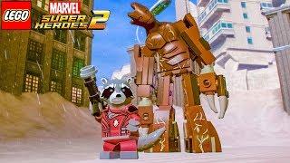 ROCKET RACCOON E GROOT No LEGO Marvel Super Heroes 2 EXTRAS #64