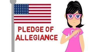 Pledge of Allegiance: Watch a cartoon for kids on the Pledge of Allegiance to the Flag