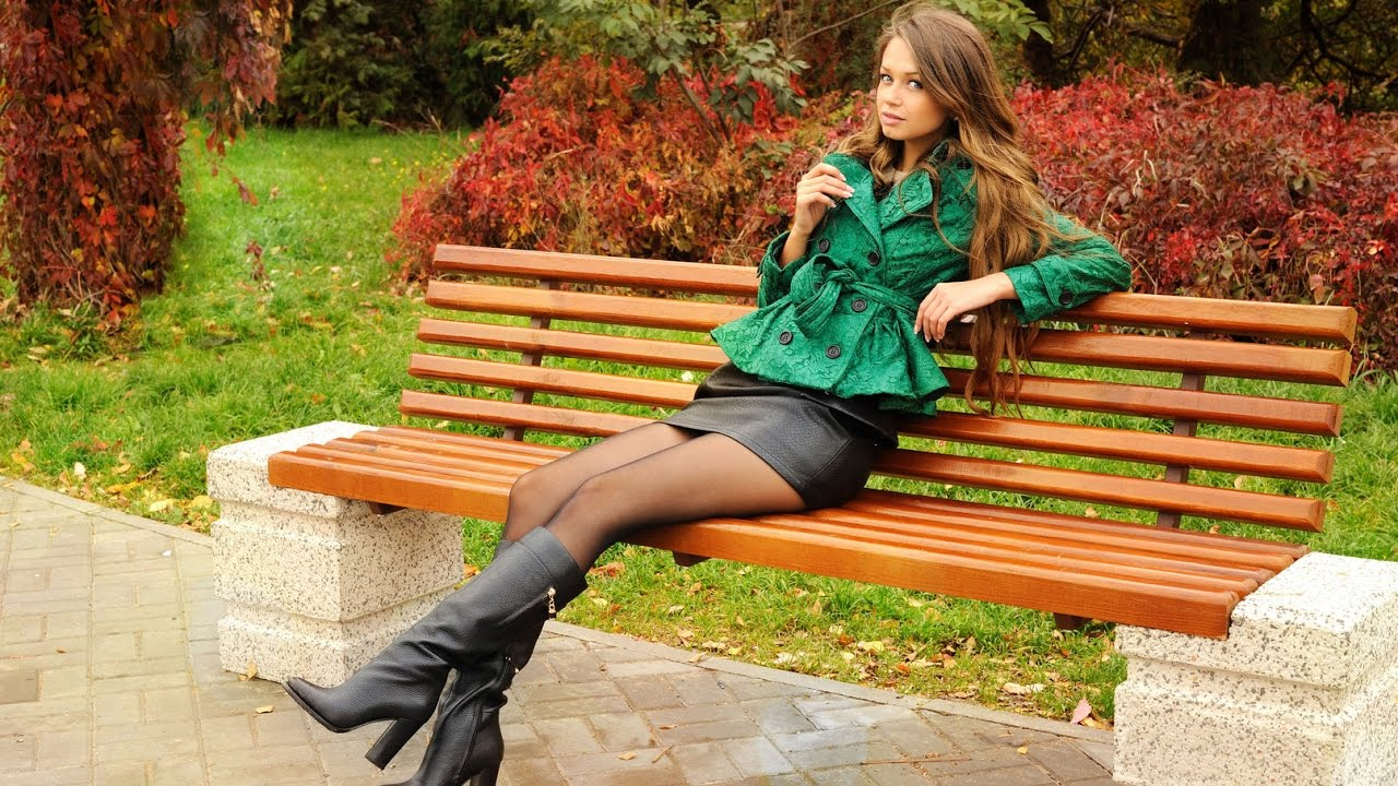 Leather Skirt Boots - YouTube