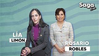 Rosario Robles y Lia Limón hablan del programa de estancias infantiles en SagaLive