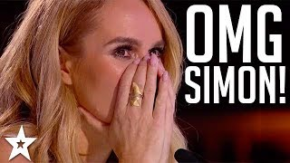 TOP 3 AUDITIONS Risking Simon's Life on Got Talent | Got Talent Global