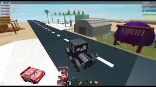 BREAK DANCING LIZZY IN MY CARS 3 GAME LOL (Roblox Hacks 3) | Roblox Cars 3