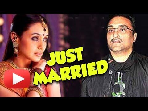 CONFIRMED - Rani Mukherji Aditya Chopra Got Married