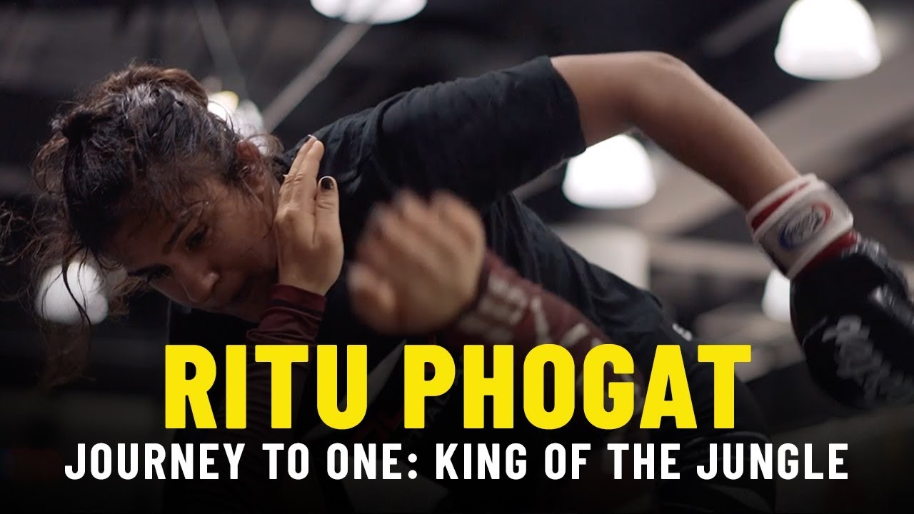 Ritu Phogat's Journey To ONE: KING OF THE JUNGLE | ONE VLOG
