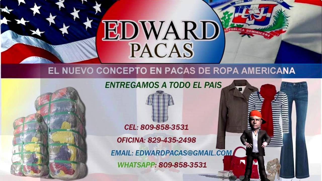 Edward pacas ventas de pacas de ropa americana for Ropa interior americana