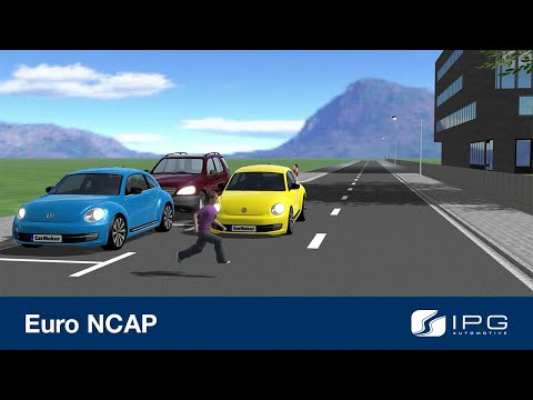 Conduct Euro NCAP tests in the virtual world