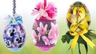 Ideen mit Herz - Deko-Eier mit Zauberfolie