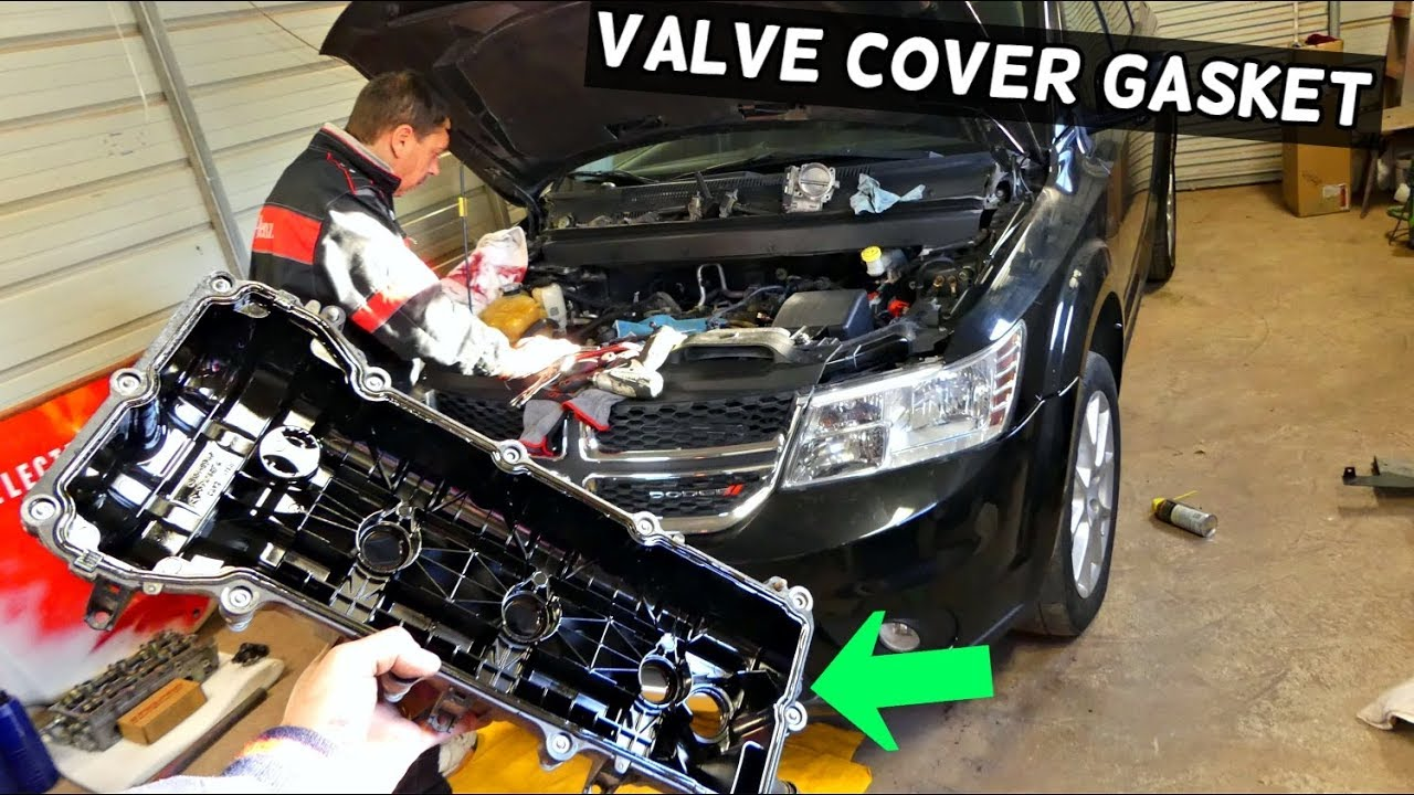 Dodge Journey Valve Cover Gasket Replacement 3 6 V6 Fiat Freemont