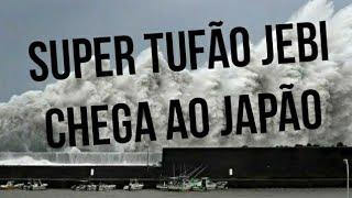 Tufão Jebi chegou ao Japão - Imagens impressionantes