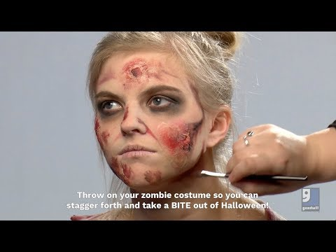 Zombie Makeup (Basic + Intermediate)