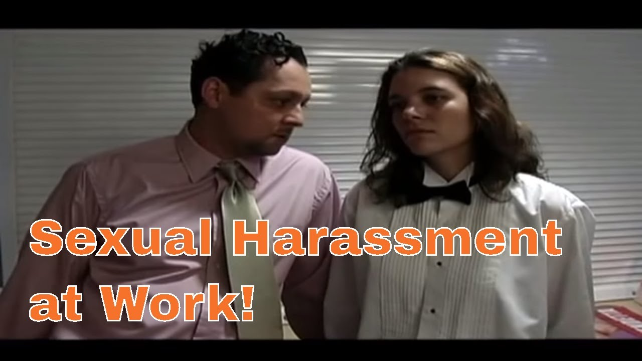 Sexual harassment in the workplace skit