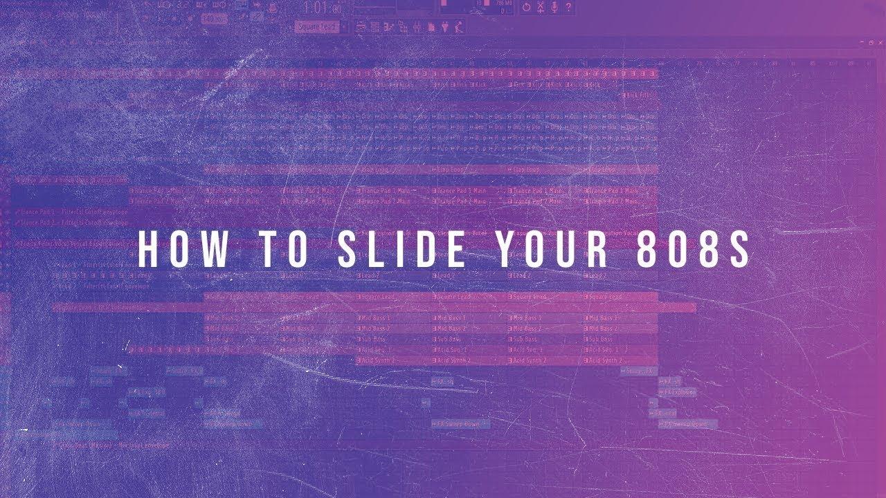 808 Slides (FL Studio Tutorial)