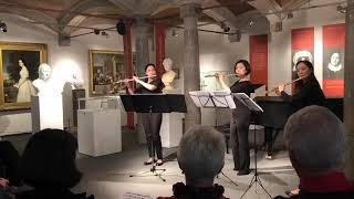 Reinhard Keiser - Sonata III for 3 flutes (Flute East Trio)