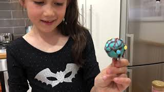 Jessica's chocolate cake pops