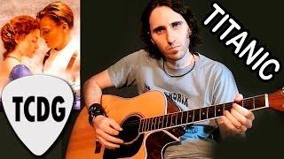 Como Tocar Titanic En Guitarra Acústica / Tutorial fácil para principiantes por Mario Freiria TCDG thumbnail