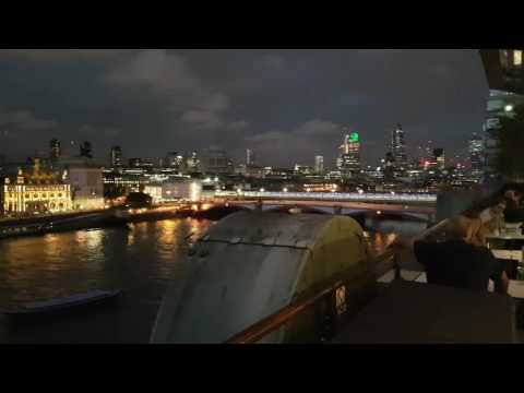 OXO TOWER JAZZ RESTAURANT VIEW #London
