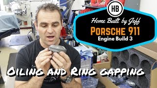 Rocker oiling and gapping rings - Porsche 911 2.8RSR Engine Build part 3