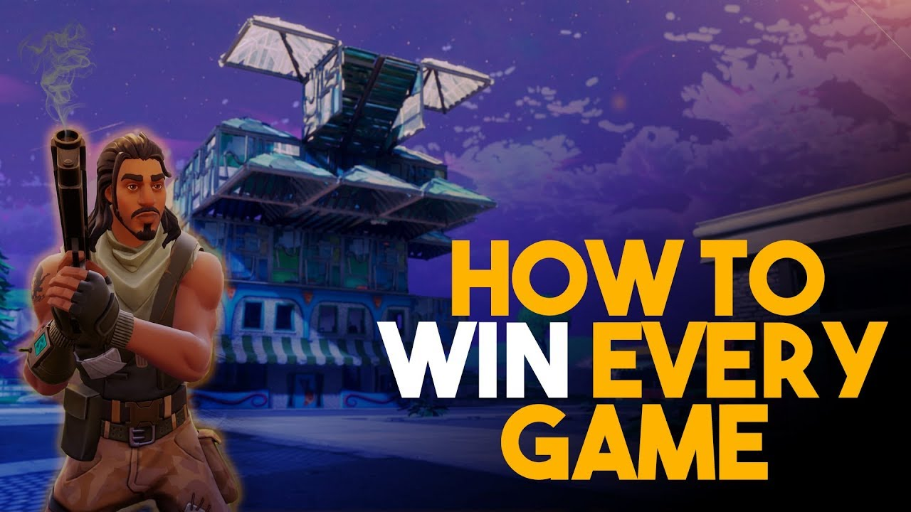How to WIN a Game of Fortnite - YouTube