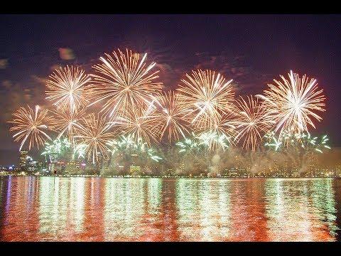 Perth City Australia Day 2018 Skyworks