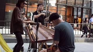 2018年9月9日、みんながつくる街の音楽祭「渋谷ズンチャカ」。移動ステ...