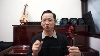 小提琴揉弦教學2 分解動作1