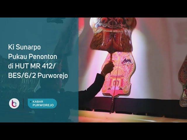 Ki Sunarpo Pukau Penonton di HUT MR 412/BES/6/2 Purworejo