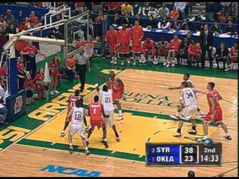 2003 NCAA Basketball Regional Final - Syracuse vs Oklahoma