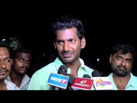 Actor Vishal - I am a Vijay's Fan - Its Common to have Problems in Fans club