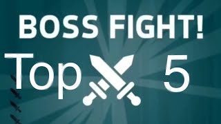 Top 5 Hardest Bosses - Knife Hit