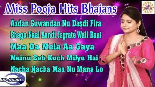 #BhaktiGeet | Miss Pooja Hits Bhajans | Full Punjabi Song 2016 | Jukebox