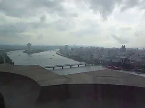 A view of Pyongyang from the Juche Tower August 2014