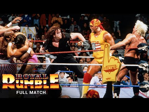 FULL MATCH - 1992 Royal Rumble Match: Royal Rumble 1992