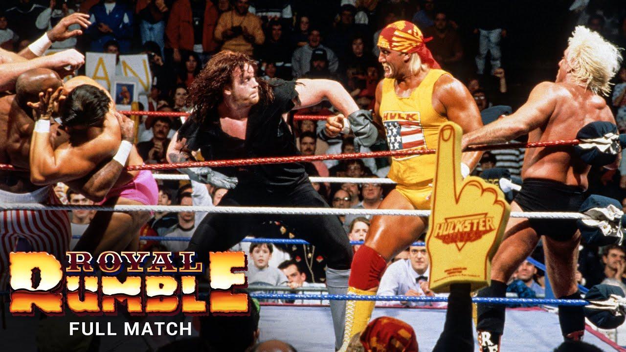 Download FULL MATCH - 1992 Royal Rumble Match: Royal Rumble 1992