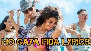 Ho gaya fida lyrics