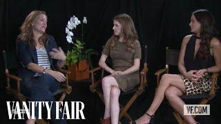Anna Kendrick & Natalie Martinez Talk to Vanity Fair