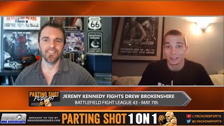 BFL 43's Jeremy Kennedy talks Drew Brokenshire, not fighting Marcus Brimage & Injuries