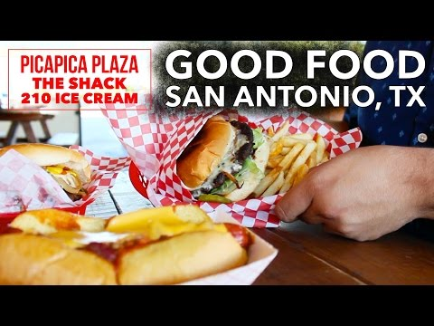 PicaPica Plaza, The Shack, 210 Ice Cream - San Antonio, Texas - (Good Food & Things to do)