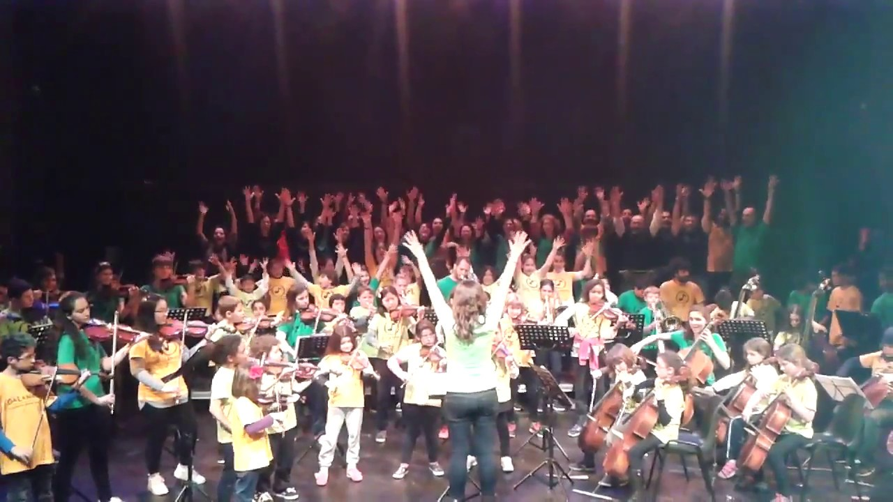 Dalanota pari la luna orquesta sala mirador youtube for Sala mirador