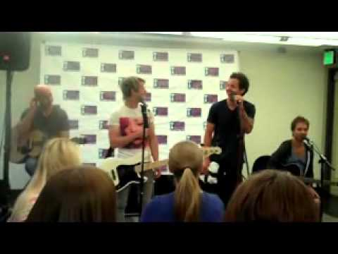 Simple Plan Visiting Mix 106.5 in Baltimore - Part 1